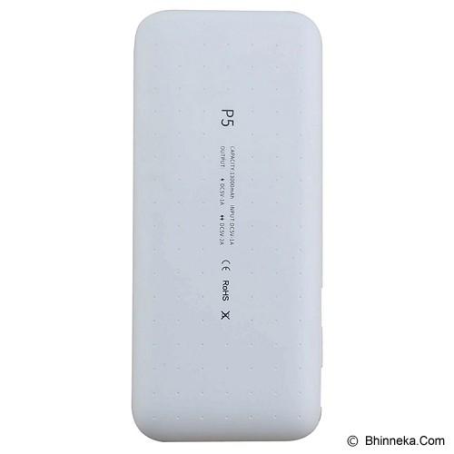 IROC Powerbank iroc Max P5 13000 mAh [P5] - White - Portable Charger / Power Bank